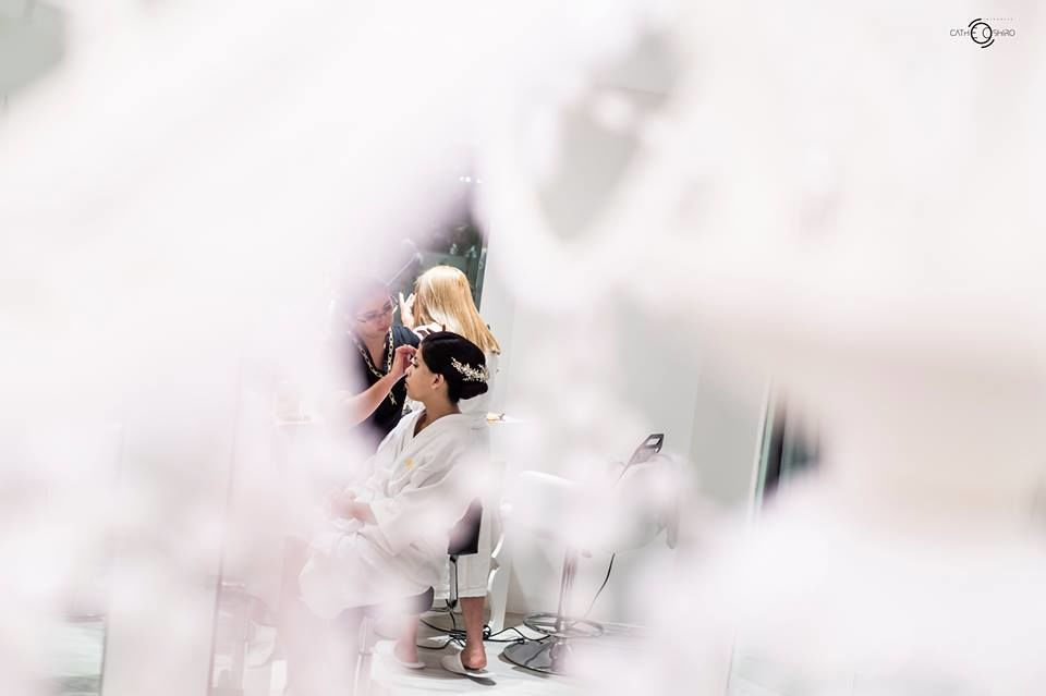 Cathe Oshiro - Fotógrafa de novias