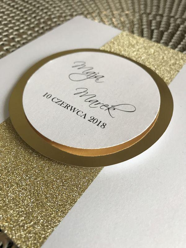 Ribbon- Zaproszenia Ślubne