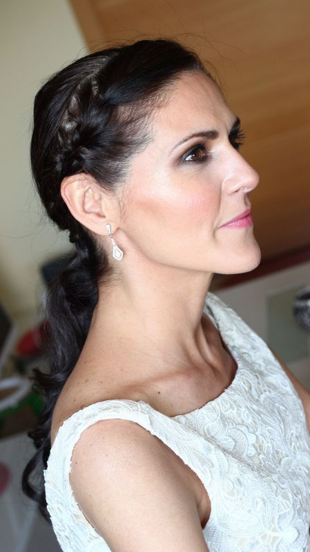#coletaSabrina y maquillaje ahumado suave