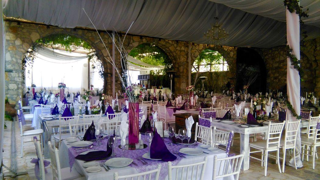Banquetes Hacienda el Jaguey en Puebla-con diferentes montajes