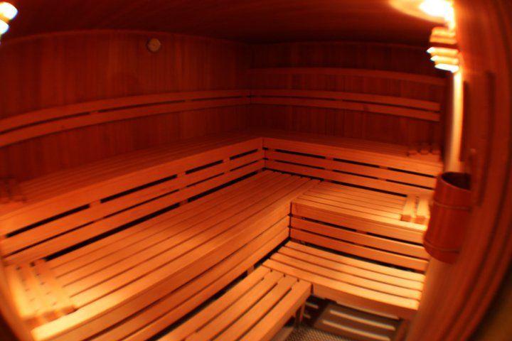 Beispiel: Sauna, Foto: AKZENT Hotel Zur Post.
