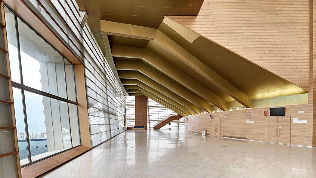 Foyer del Kursaal, para bodas de más de 180 invitados