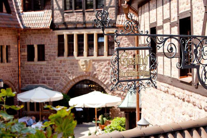 Innenhof des Hotels, Foto: Hotel auf der Wartburg