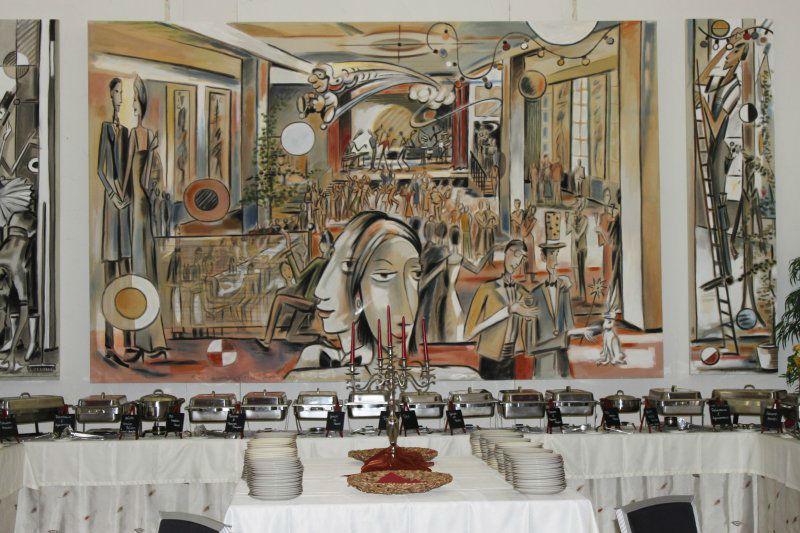 Beispiel: Buffet, Foto: Café Stormwind.