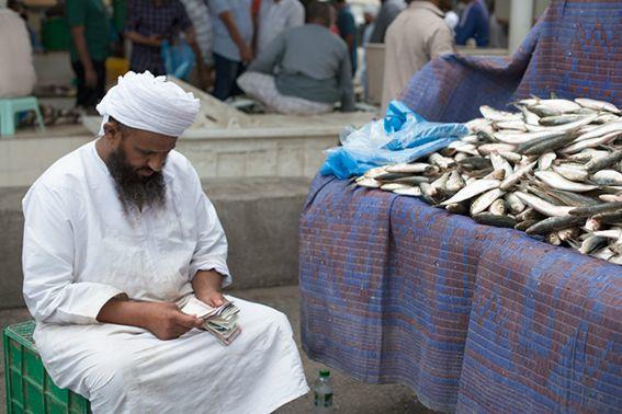 MUSCAT- OMAN - Mercato del Pesce
