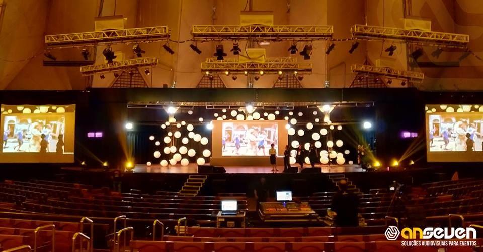 Anseven - Soluções Audiovisuais para Eventos