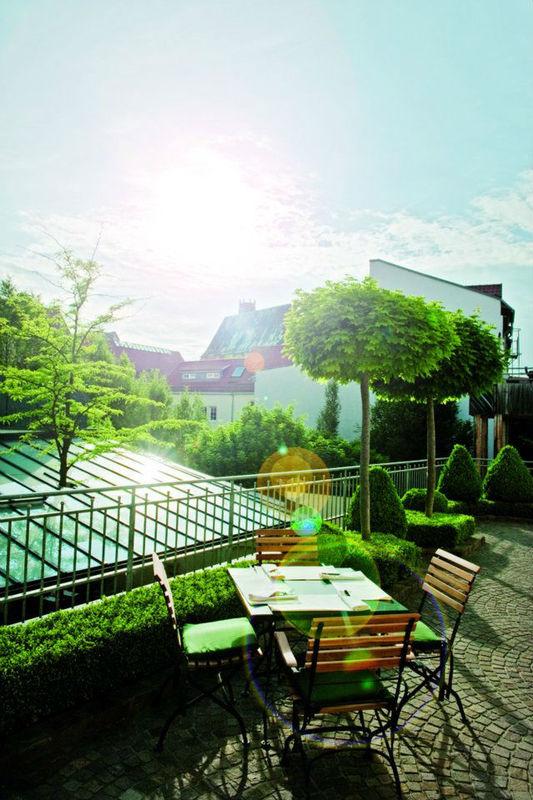 Beispiel: Terrasse, Foto: Hotel Zumnorde.