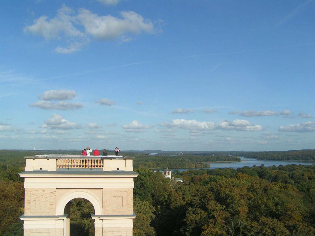 Potsdams schönste Aussicht. © SPSG, Förderverein Pfingstberg