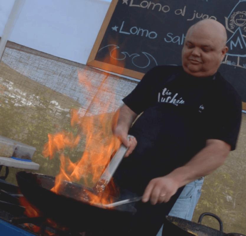 Tio Luchin - cocina en vivo