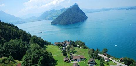 Beispiel: Lage des Hotels, Foto: Hotel FloraAlpina.