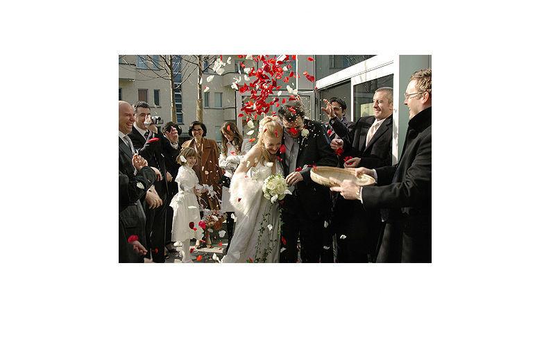 Beispiel: Hochzeitsreportage, Foto: dfoto.