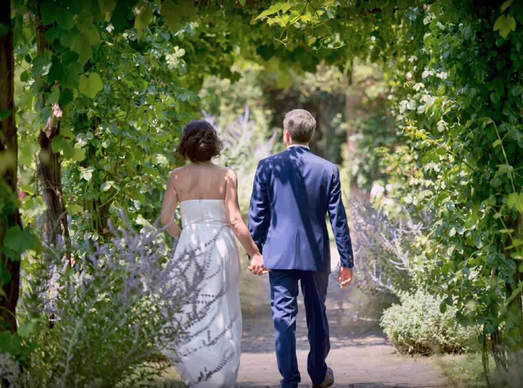 Promenade dans les jardins de la Giudecca