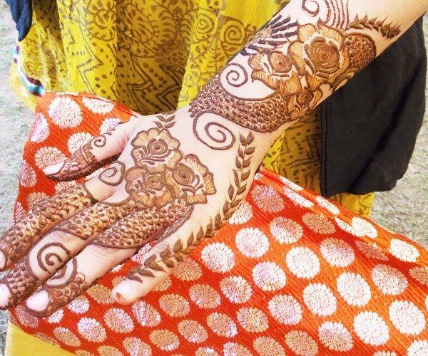 Seema Khandelwal Mehandi Artist