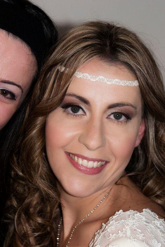 Priscilla Beauty World: Make Up Sposa Michela