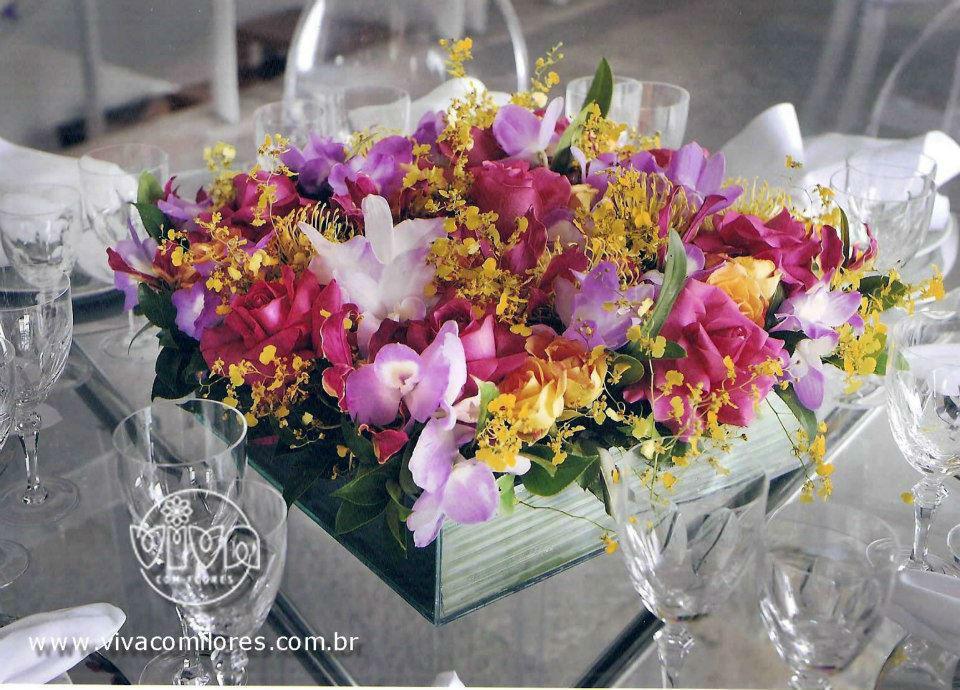 Viva com Flores