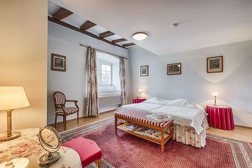 Beispiel: Zimmer, Foto: Schloss Neuhaus.