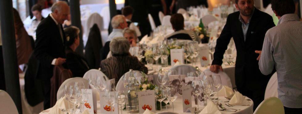 Beispiel: Professionelles Catering für Ihre Hochzeit, Foto: Stroh Catering.