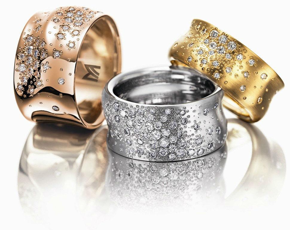 Beispiel: Ihre individuellen Eheringe, Foto: Juwelier Dallinger.