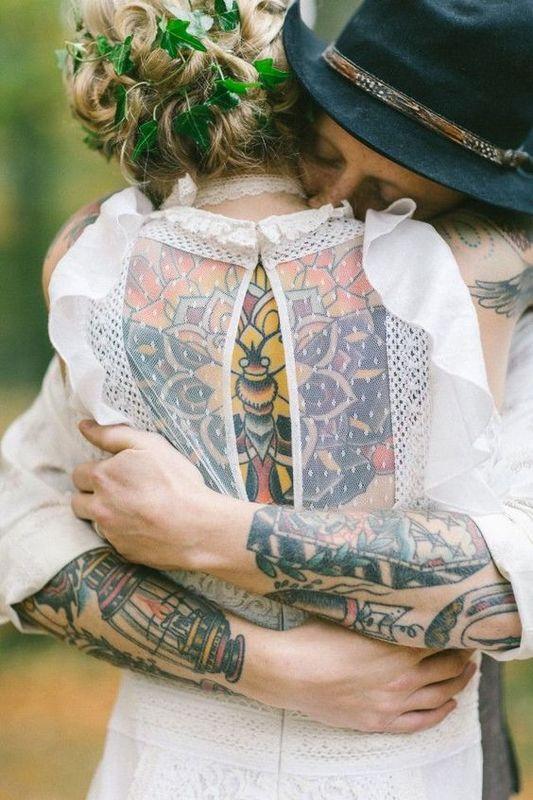 Embrassez la mariée !