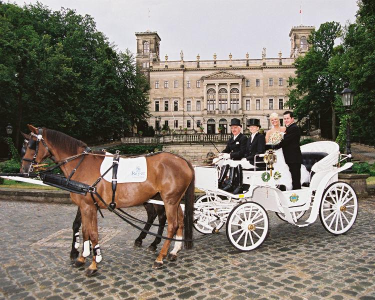 Beispiel: Kutsche, Foto: Schloss Albrechtsberg.