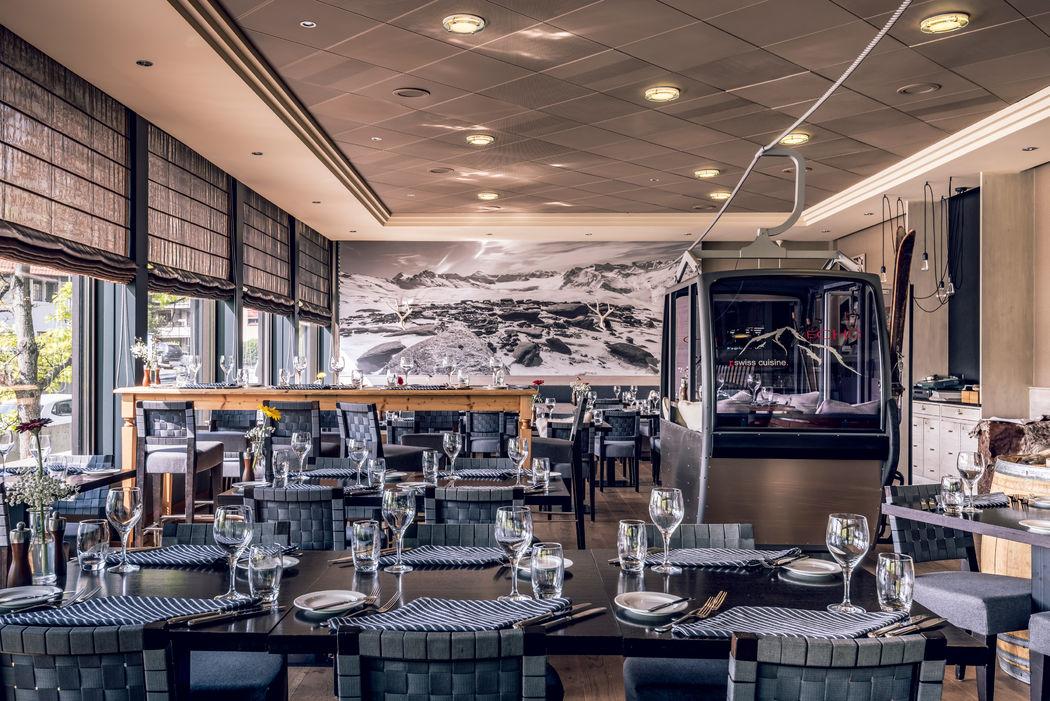 eCHo Restaurant - Schweizer Spezialitäten im Zürich Marriott Hotel