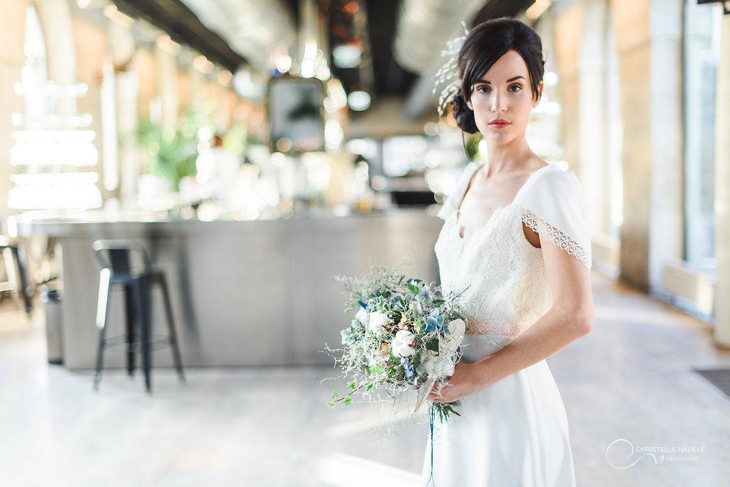 ROBE SABRINA MARIAGE CIVIL LES MARIEES FOX