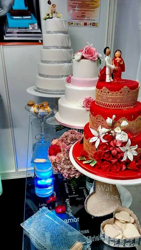 Nos wedding cakes salon du mariage 2015