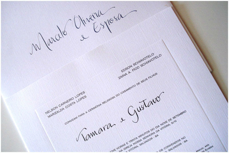 Sandra Bravo | Caligrafia e Plastificação