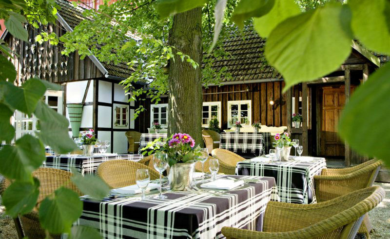 Beispiel: Garten, Foto: Hotel Zur Bleiche.