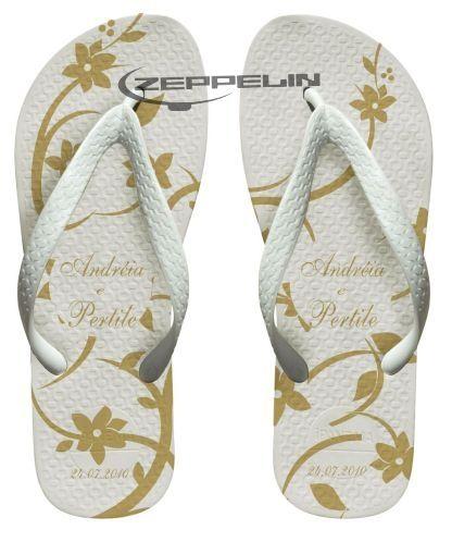 Zeppelin Sandálias Personalizadas