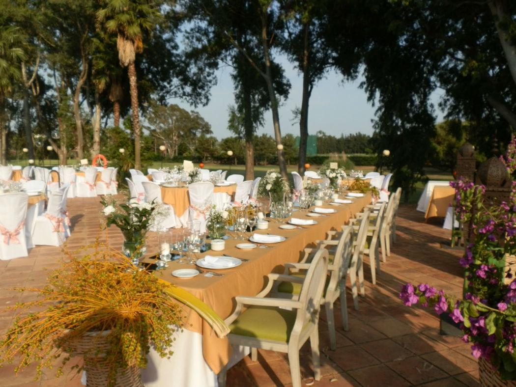 Boda en Hotel Isla Canela Golf -Jardines