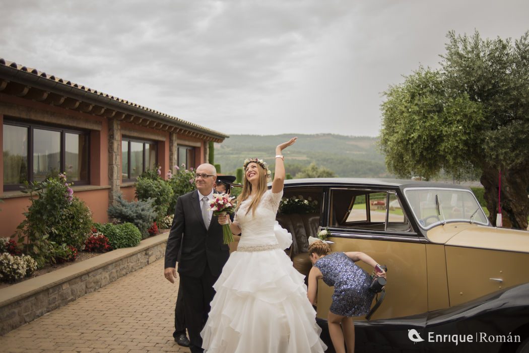 Fotografía de Boda - Llegada novia