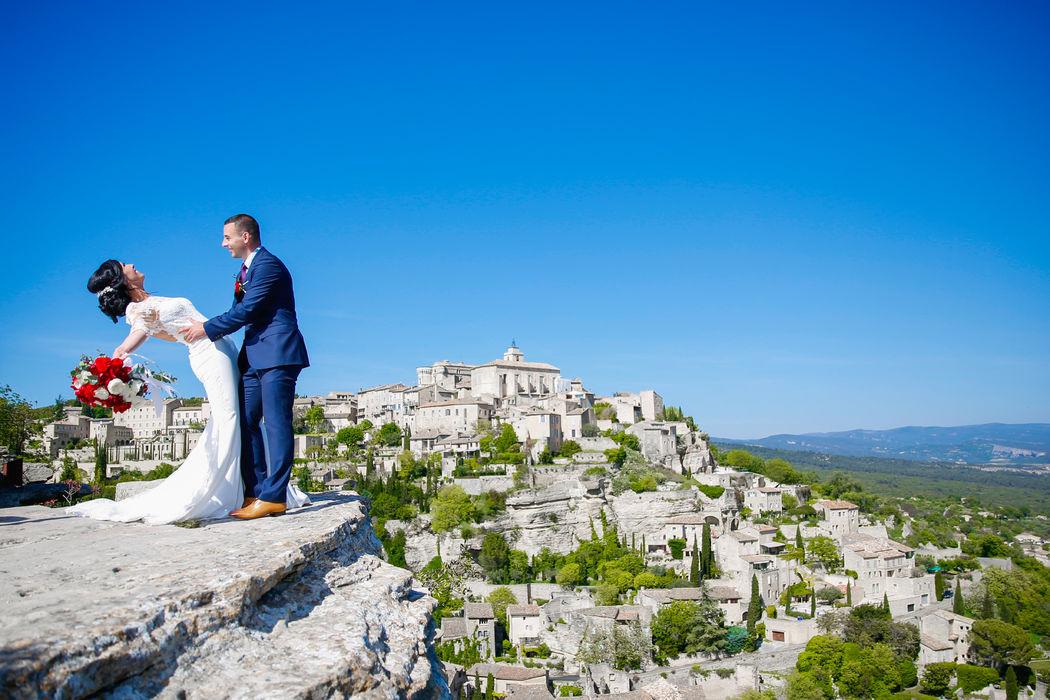 Mariage à Gordes