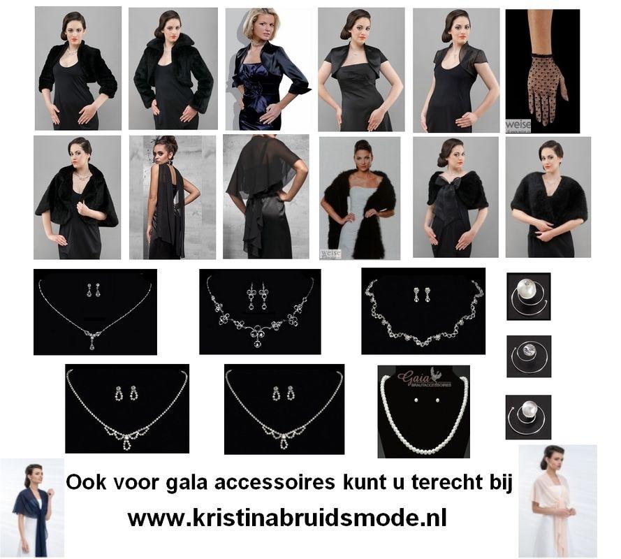 www.kristinabruidsmode.nl Gala accessoires voor de moeder van de bruid