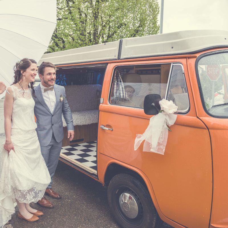VW Bus Bern - Hochzeitsauto & Photobus