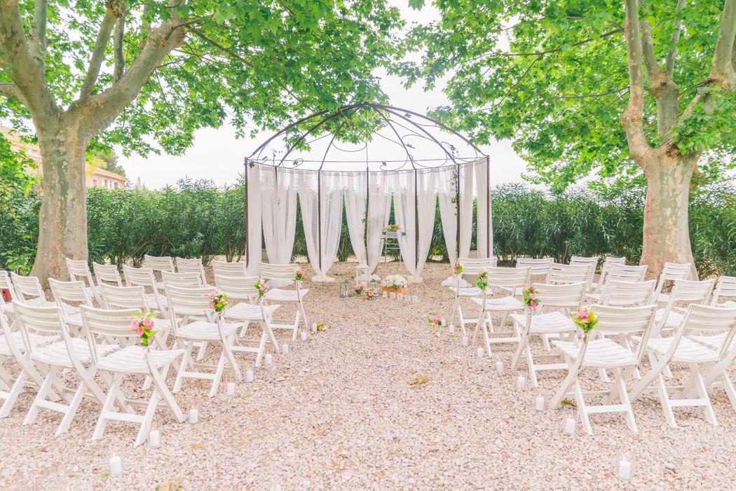 Mariage Château La Beaumetane - J'ai 2 Amours
