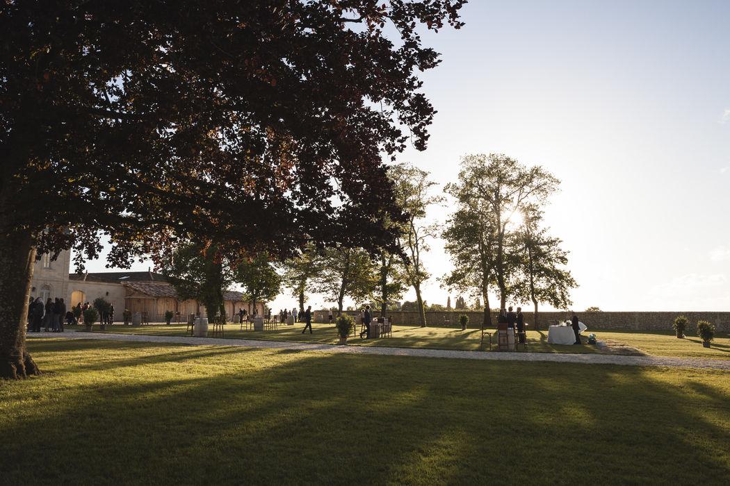 Les Mariages Bordelais - Le parc du Château Soutard