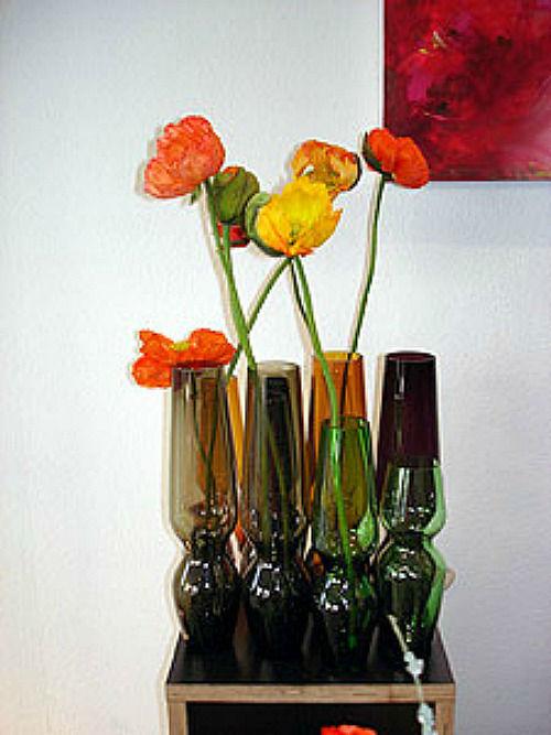 Beispiel: Vasendekoration, Foto: Blütenraum.