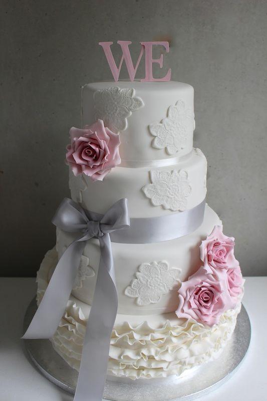 Fondant bruidstaart