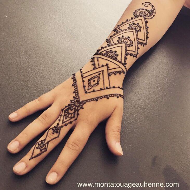 Mon Tatouage au Henné