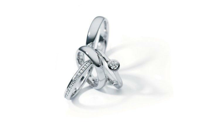 Beispiel: Trauringe für jeden Geschmack, Foto: Juwelier Theobald.