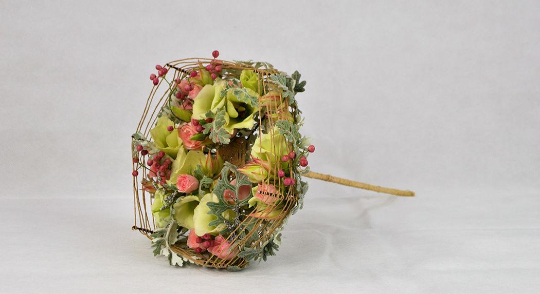 ramo de novia artesanal