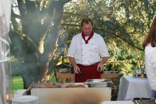 Beispiel: Service und gute Küche, Foto: Landhaus Klosterwald.