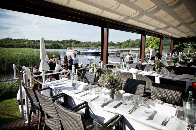 Beispiel: Terrasse, Foto: Seelodge Kremmen.
