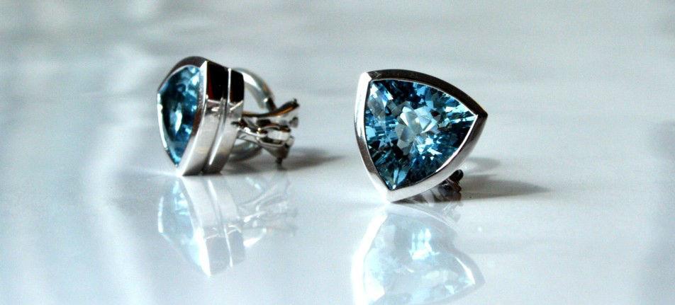 Beispiel: Ohrringe, Foto: Juwelier Theobald.