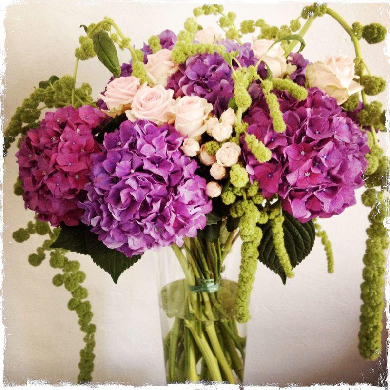 Composition d 'ambiance.  Création florale Les Fées Nature