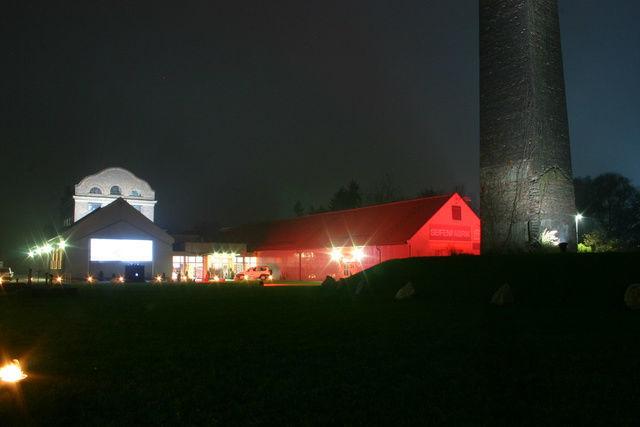Beispiel: Seifenfabrik bei Nacht, Foto: Seifenfabrik.