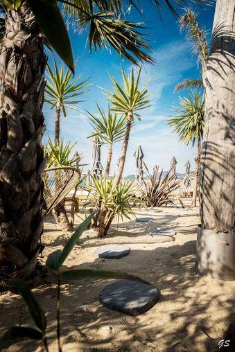 L'Effet Mer, plage privée