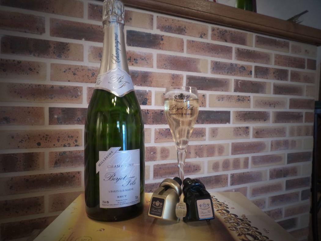 Champagne Berjot Fils Brut Millésimé