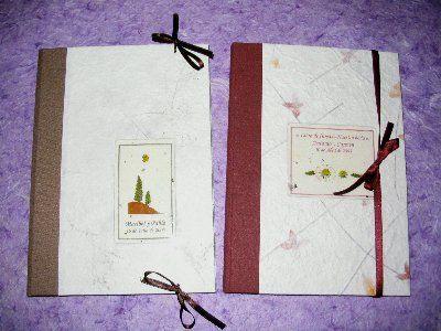 La cigüeña de papel, libros de firmas